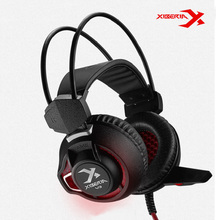 2016 Xiberia V3 Gaming Headset with Microphone Surround Sound Noise Cancell Game Headphone Glowing LED Light USB for PC Computer