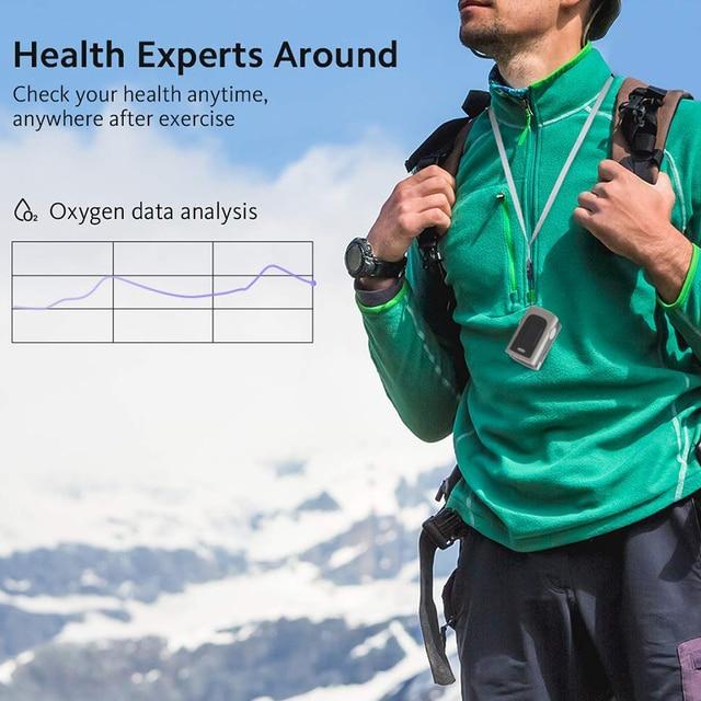 Household Health Monitors Oximeter CE Medical Heart Rate Monitor LED Fingertip Pulse Oximeter Finger Blood Oxygen 4