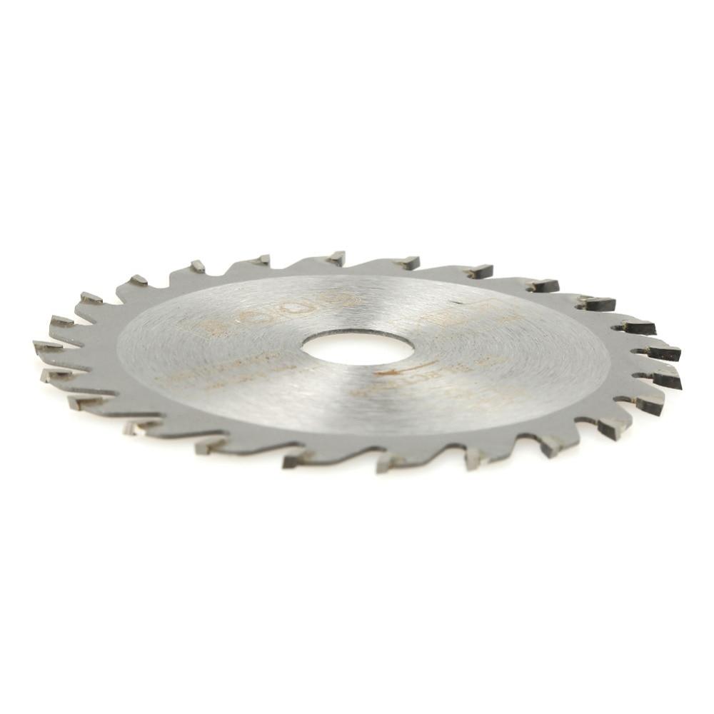 Hoja de sierra circular de carburo de 24 dientes 85 mm x 15 mm Disco de corte de herramienta rotativa para trabajar la madera con 24 dientes de carburo cementado de 24 dientes