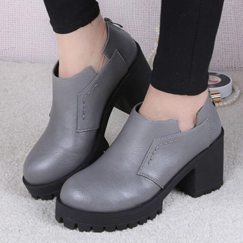 New Design 2016 Womens Shoes High Heel Platform Pumps -6964