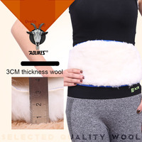 Women Cashmere Fitness Warmer Wool Waist Support Belt Unisex Elastic Protector