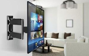 """Image 3 - NB DF400 pełnoekranowy 32 52 """"płaski Panel wyświetlacz LED LCD do montażu na ścianie telewizor maks. VESA 400*400mm obciążenia 32kgs uchwyt monitora ramię podtrzymujące P4"""