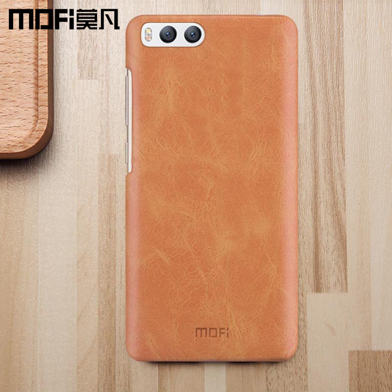 Xiaomi mi6 case mi 6 back cover original case hard leather + PC phone fundas luxury 2017 new MOFi xiaomi mi6 luxury case 5.15""