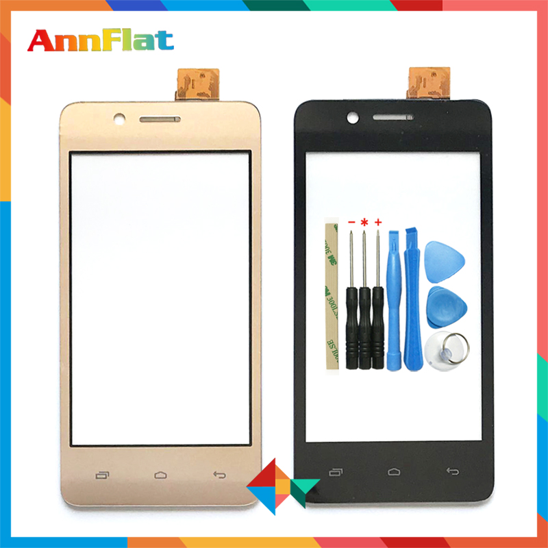 High Quality 4.0'' For Micromax Bolt Q402 Touch Screen Digitizer Front Glass Lens Sensor Panel Free Shipping