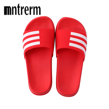 Women Slippers Summer Home Floor Slippers Indoor Family Stripe Flat Bath Sandal Slipper outdoor Beach Shoes Flax Lovers Slippers