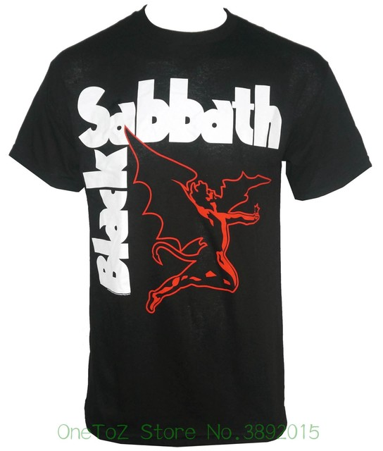 2018 New Fashion Brand Clothing Authentic Black Sabbath Classic
