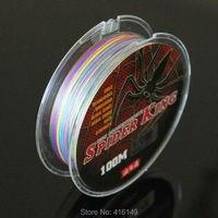 SPIDER KING 4 sợi bện dây PE dòng 100 m một mét một màu
