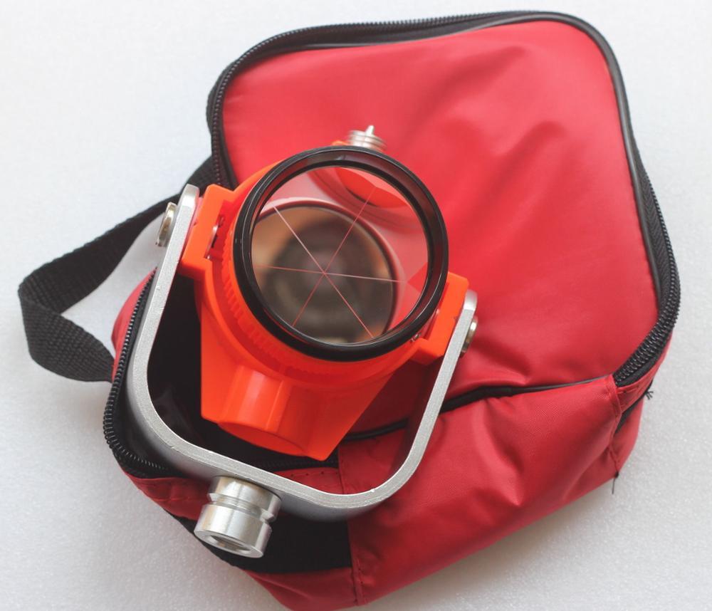 NEW Red mini Single Prism w Bag for TOPCON SOKKIA NIKON total stations Surveying