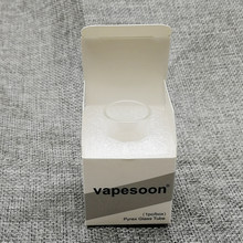 vapesoon Replacement Pyrex Glass Tube for Eleaf ELLO T Atomizer Tank 2ml 4ml Fit Invoke 220W Kit(China)
