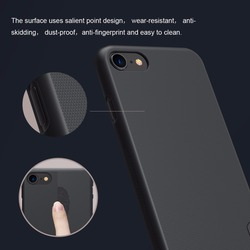 NILLKIN Case for iphone 8 Case iphone 8 plus case Super Frosted Shield Hard Plastic Back Cover with Screen Protector 4