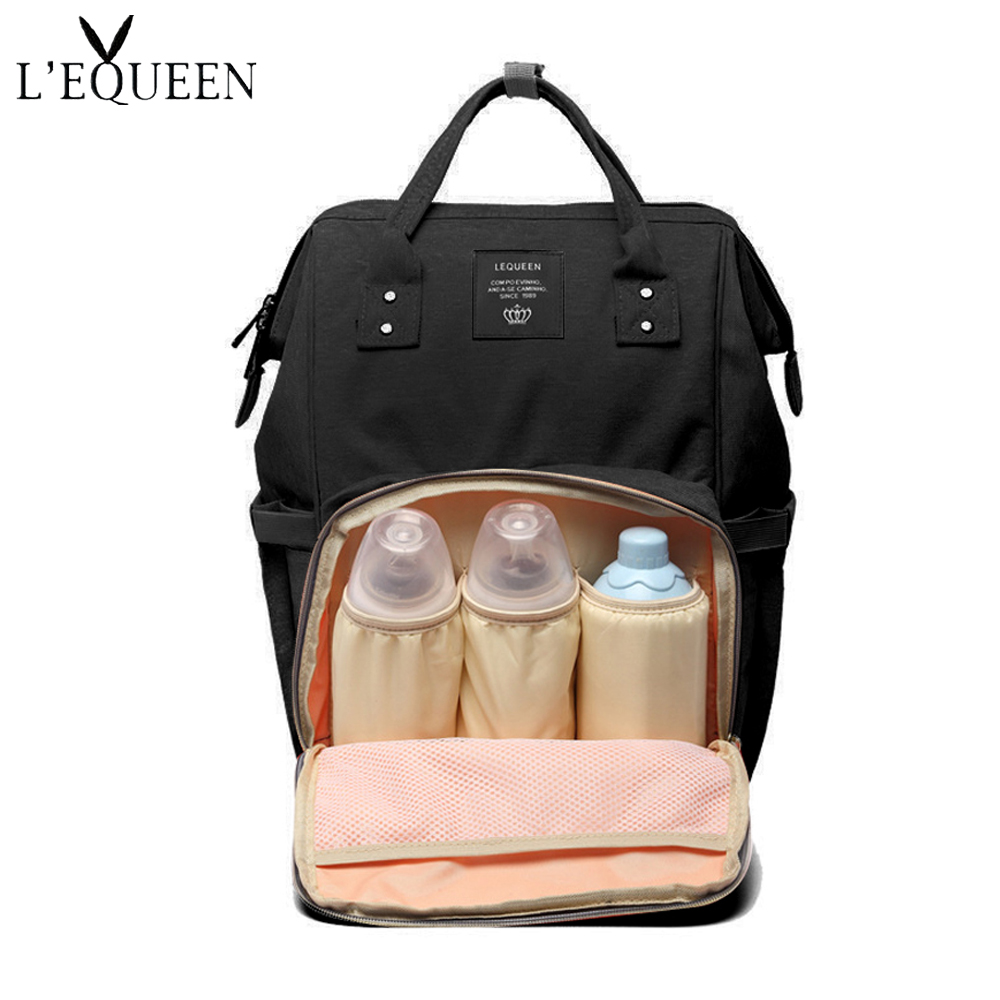 Us 4 84 Fashion Baby Bag Stroller Diaper Waterproof Bags For Mom Backpack And Daddy Diapers Lequeen In From Mother