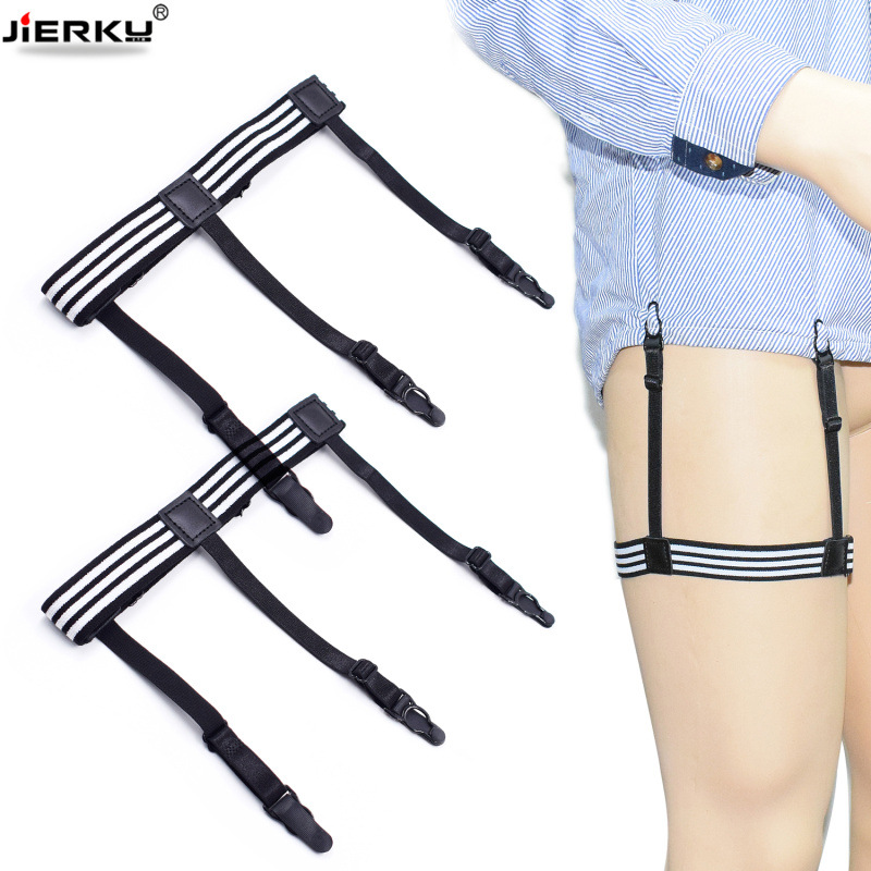2019 Shirt Garters Mans Stays Holder Leg Suspenders Braces Gourd buckle 1pair GW05