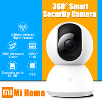 2019 Xiaomi Camera MI Smart Wifi Camera Wifi Webcam 1080P WiFi Pan tilt Night Vision 360 Angle Video IP Camera Baby Monitor