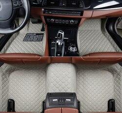 Auto vloermatten voor Jac T5 Rein13 s5 faux s5 auto accessoires auto-styling speciale Custom foot matten auto tapijt