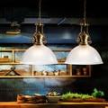 2 pcs American Loft Estilo Retro Lampe Lâmpada Industrial Do Vintage Pingente Sala de Jantar Luminárias Edison Lamparas Bombilla