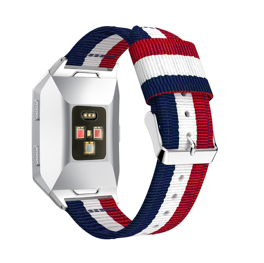 New 2018 Lightweight Nylon Adjustable Replacement Band Sport Strap For Fitbit Ionic drop shipping J05T