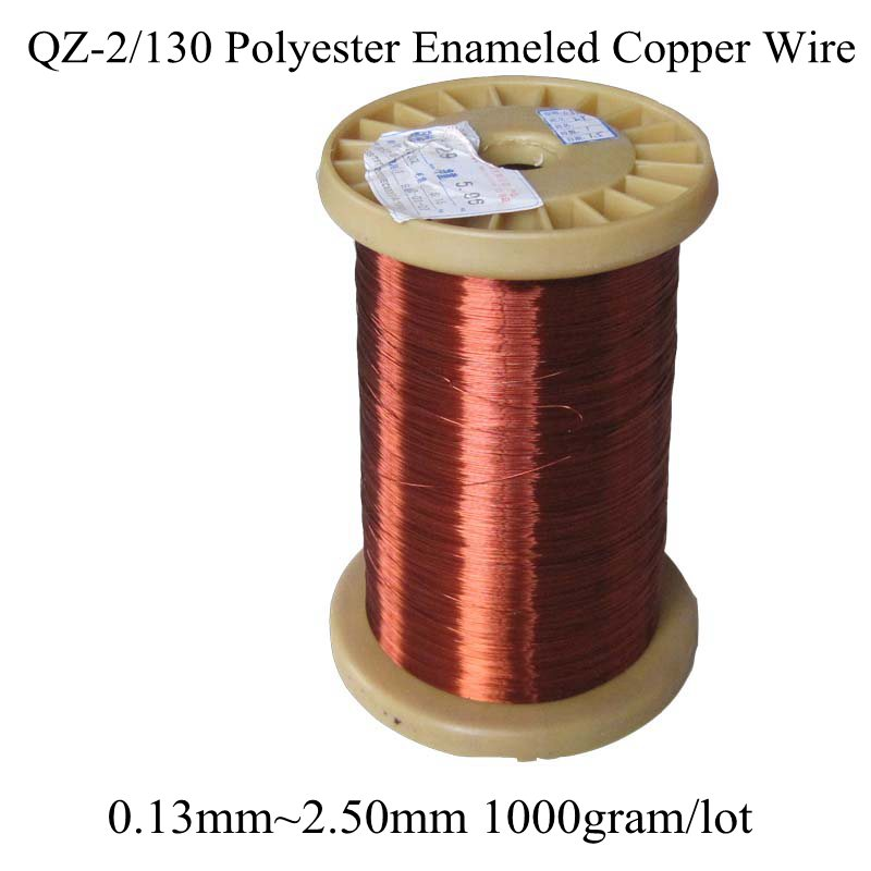 0 13MM 2 50MM Many Size 1000gram roll Polyester Enameled Copper wire Magnetic Coil Winding QZ