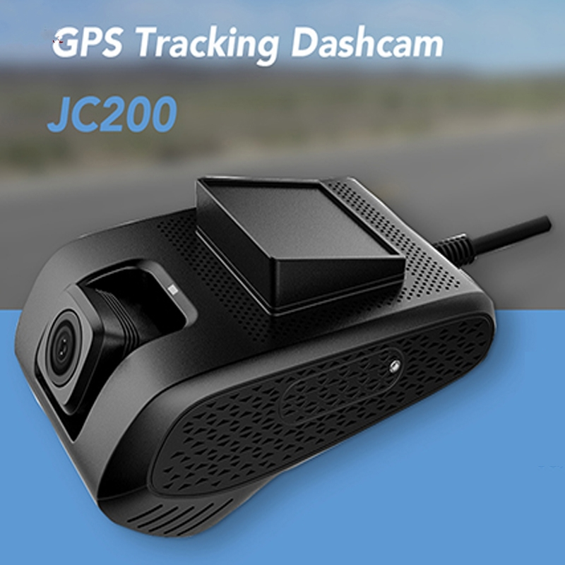 купить JC200 3G Smart Car GPS Tracking Dashcam with Dual Camera Recording & SOS Live Video View by Free Mobile APP for Commercial Fleet недорого
