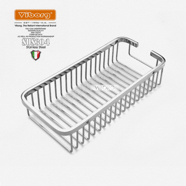 VIBORG Deluxe Solid Thick 304 Stainless Wire Single Tier