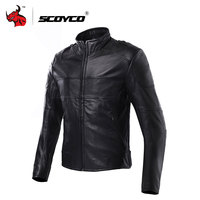 SCOYCO Men S Waterproof Moto Jacket Motorbike Racing Jackets Genuine Leather Cowhide Motorcross Jackets Motorcycle Clothing