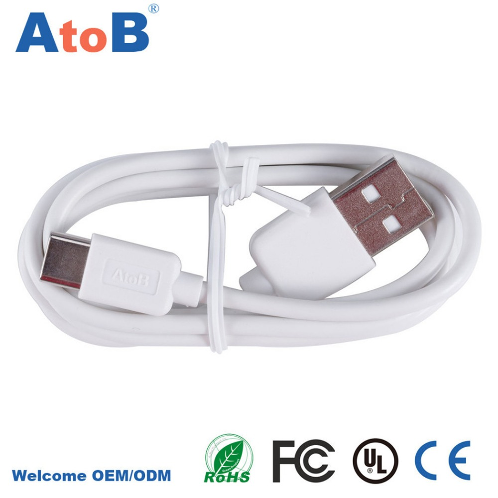 Genuine Heavy Duty Play 20000 Times USB 3.1 Type C Data Sync Charger Charging Cable for Xiaomi 4C/One Plus Two/Nexus 5X 6P/Nokia