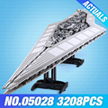 LEPIN Starwars Keizer fighters schip 05027 05028 Bouwstenen Bricks legoing star wars Destroyer 10030 10221 Wars