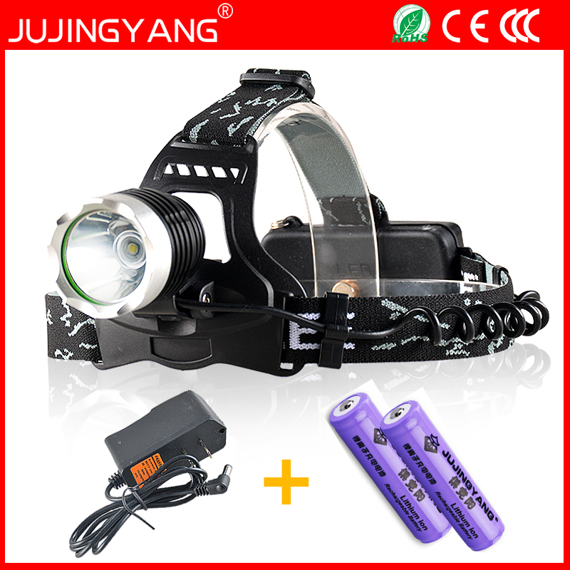 Super bright Rechargeable 18650 10W LED headlamp for fishing&hunting,T6 led head light,Waterproof headlight for camping 2017 kl4 5lm newest brighter headlamp cordless led headlight for hunting mining fishing light free shipping
