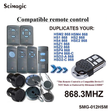 Cloning HORMANN HSM2, HSM4, Garage Door gate Remote Control Replacement 868 MHz Fob free shipping sea gate remote control duplicater fob sea smart tx2 sea smart tx3 sea 868 mhz