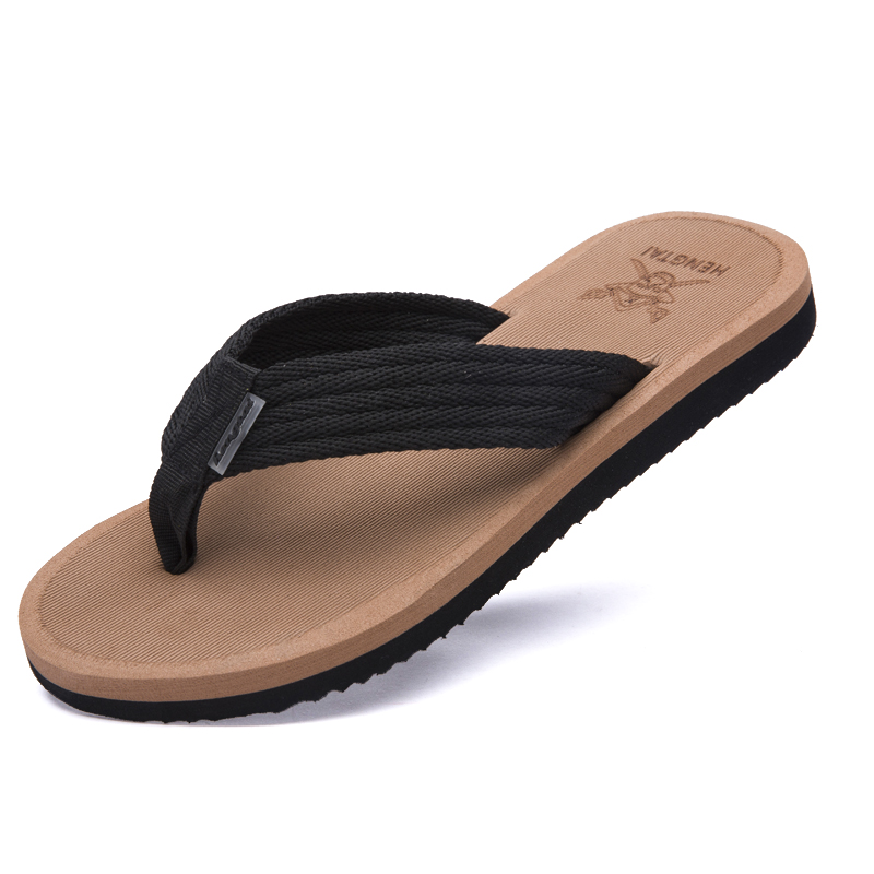 Slip-Resistant Mens Flip Flops Slippers Summer Sandals ...