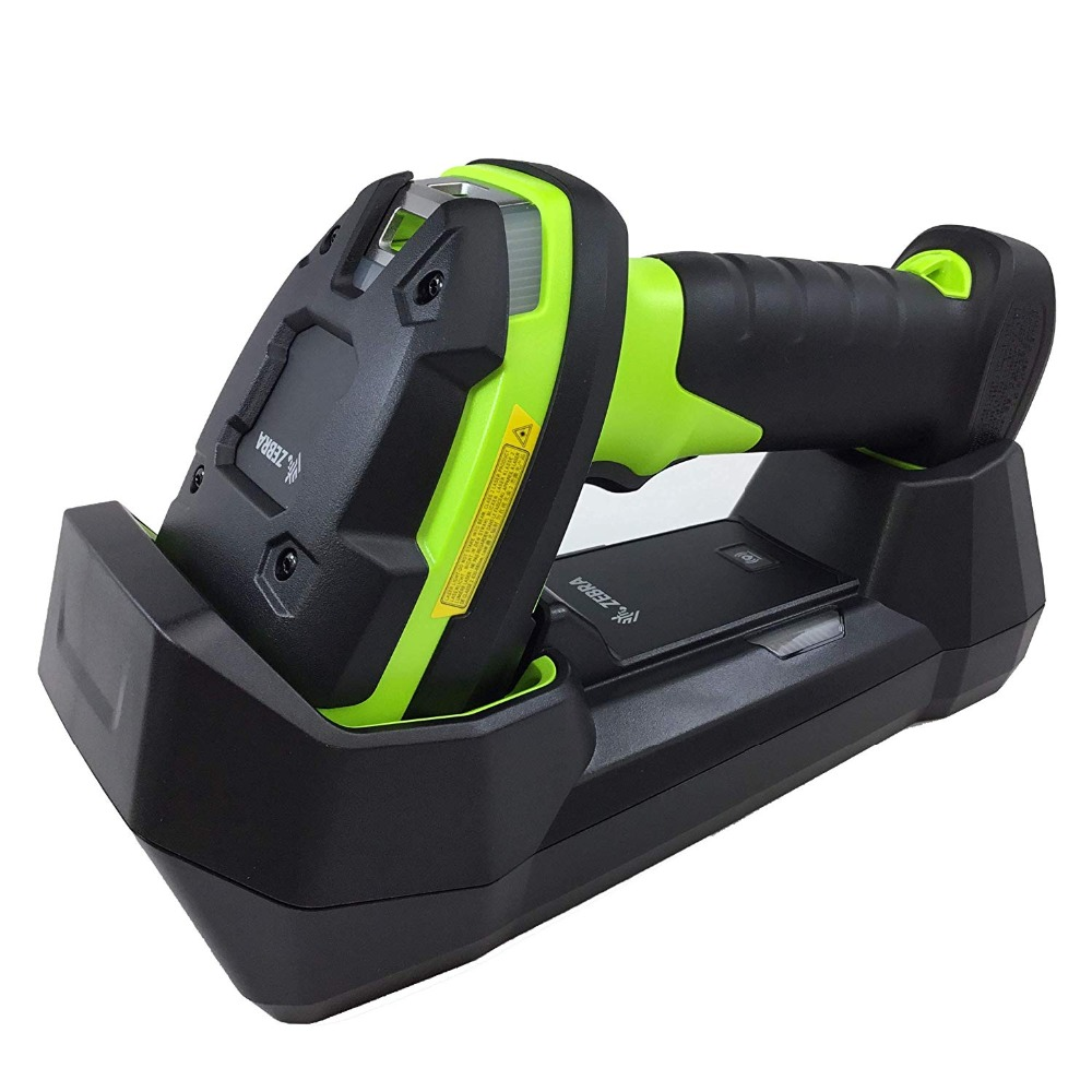 Zebra LI3678-SR Ultra-Rugged Cordless 1D Barcode Scanner/Linear Imager Kit, Includes Cradle, Power Supply,USB Cable