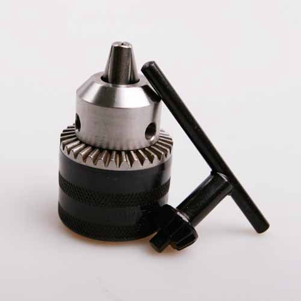 Professional Clamping 1.5-13mm Keyless Electric Drill Chuck Adapter with wrench 1/2-20UNF micro Drill Bit Top Quality 2 13mm keyless drill chuck 1 2 20unf with adapter electric drill accessories