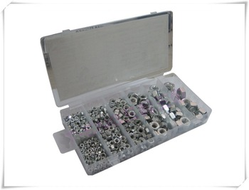 650 Pieces Mixed Set Standard Hexagon Nuts