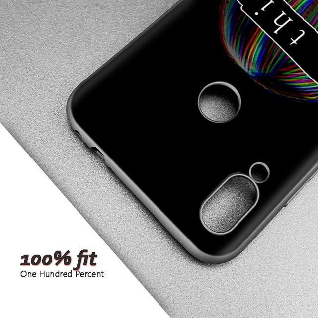 Silicone Coque Case for Xiaomi Redmi Note 8 9 K20 K30 Pro Mi A1 A2 6A 7 7A 8 8A 8T Poco F1 S2LEWD Sad Anime Aesthetic Senpai sa