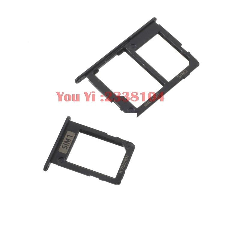 10 set For Samsung Galaxy J3 (2017) SIM1 + SIM2 (SIM & Micro SD)  SIM Card Micro SD Tray Holder Slot Adapter For J3 2017