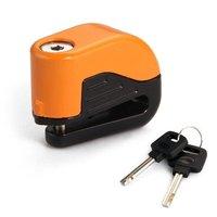 TOYL Blocked Disc Lock Alarm Stainless Steel Universal Motorcycle Safety