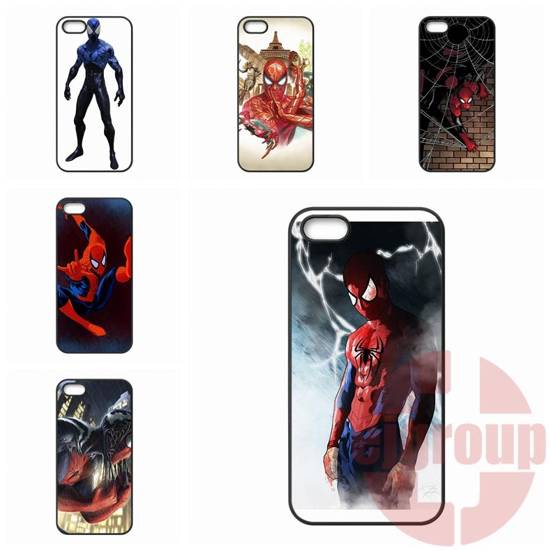 Case Protective Amazing Spider Man Superhero For Apple iPhone 7 Plus For Galaxy Note 7 For Huawei P9 Lite For HTC D 826
