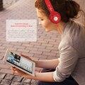 Благодарный Беспроводные Bluetooth Наушники Складная Стерео Оголовье Гарнитуры С FM/TF Слот Для Карты MP3 Музыкальный Плеер Для Xiaomi & Компьютер