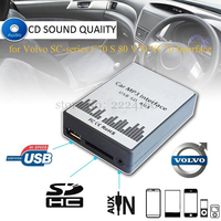 USB SD AUX Car MP3 Adapter CD Change For Volvo SC Series C70 S80 Interface Simple