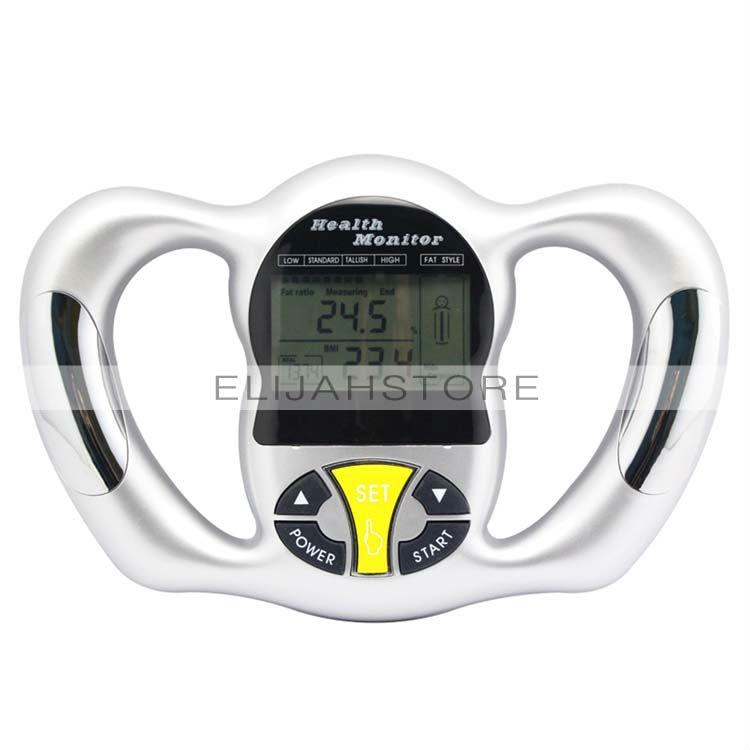 hand held body mass index bmi health fat analyzer health monitor slimming product Chuse BZ-2009 Digital LCD Mini Handheld BMI Tester Body Fat Monitor Health Analyzer Fat Meter with 5 Fat Levels tattooing