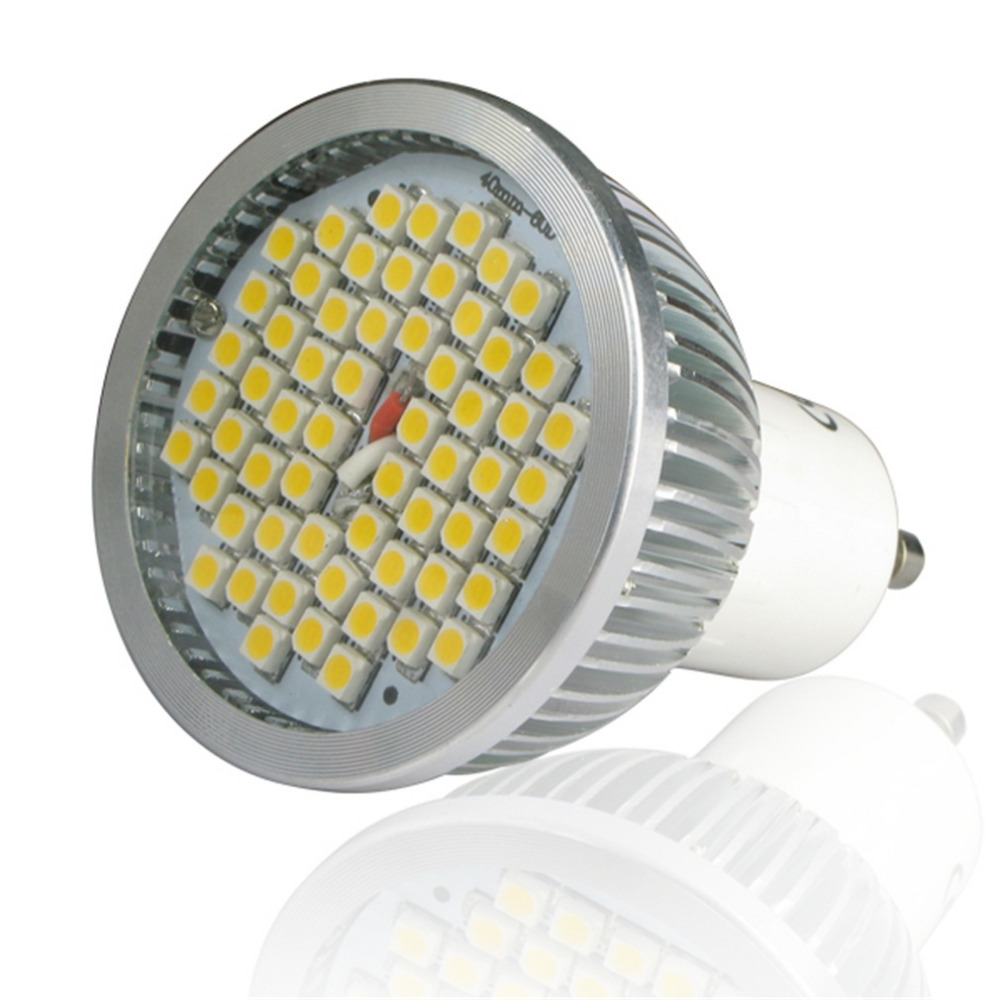 Super Bright 24SMD 5050 GU10 Series 4.5-5W Light Bulbs 120 Degree Beam Angle Home Office High Power LED Lamp