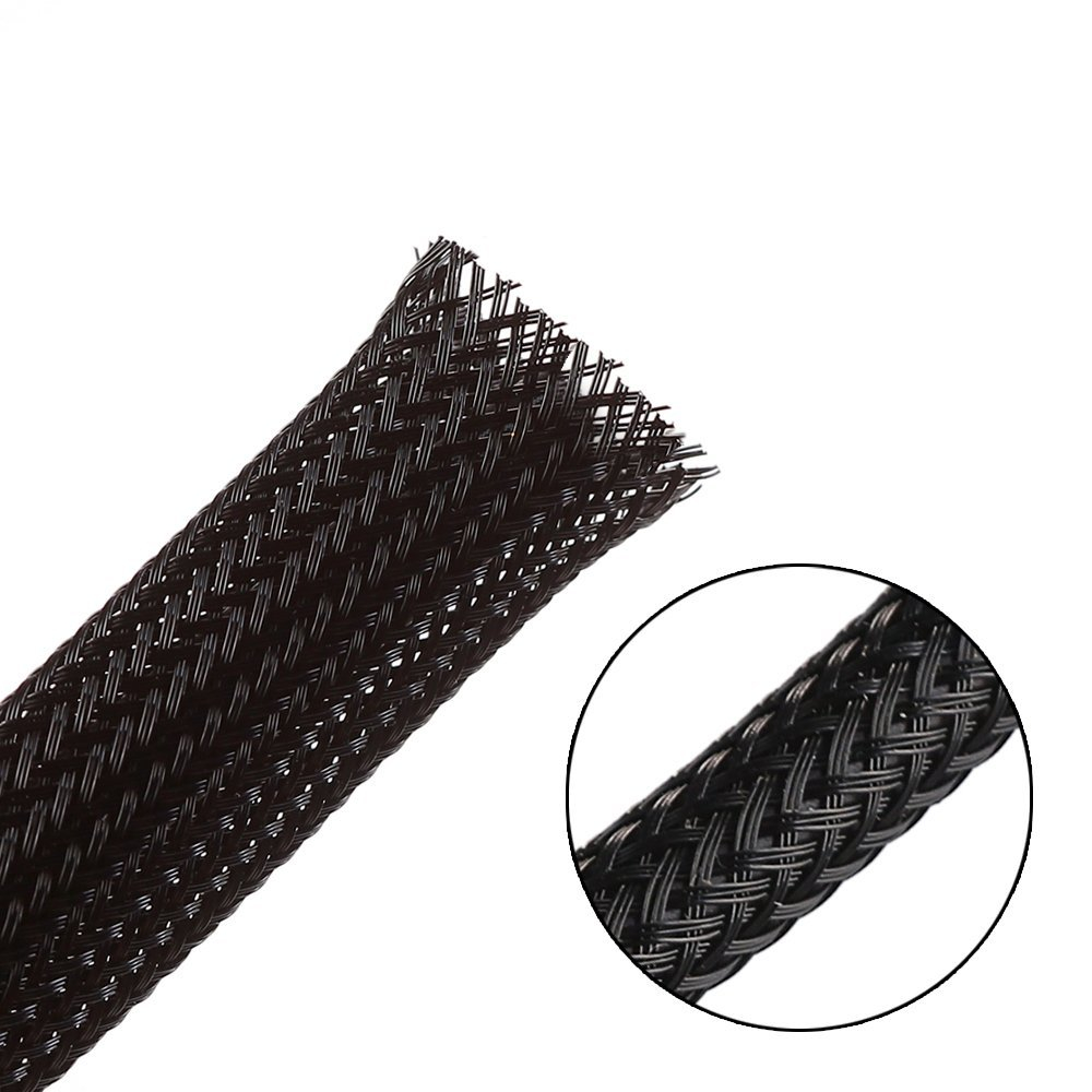 """better than cheap PET 10ft 1//4 BRAIDED EXPANDABLE SLEEVING /""""NYLON/"""""""