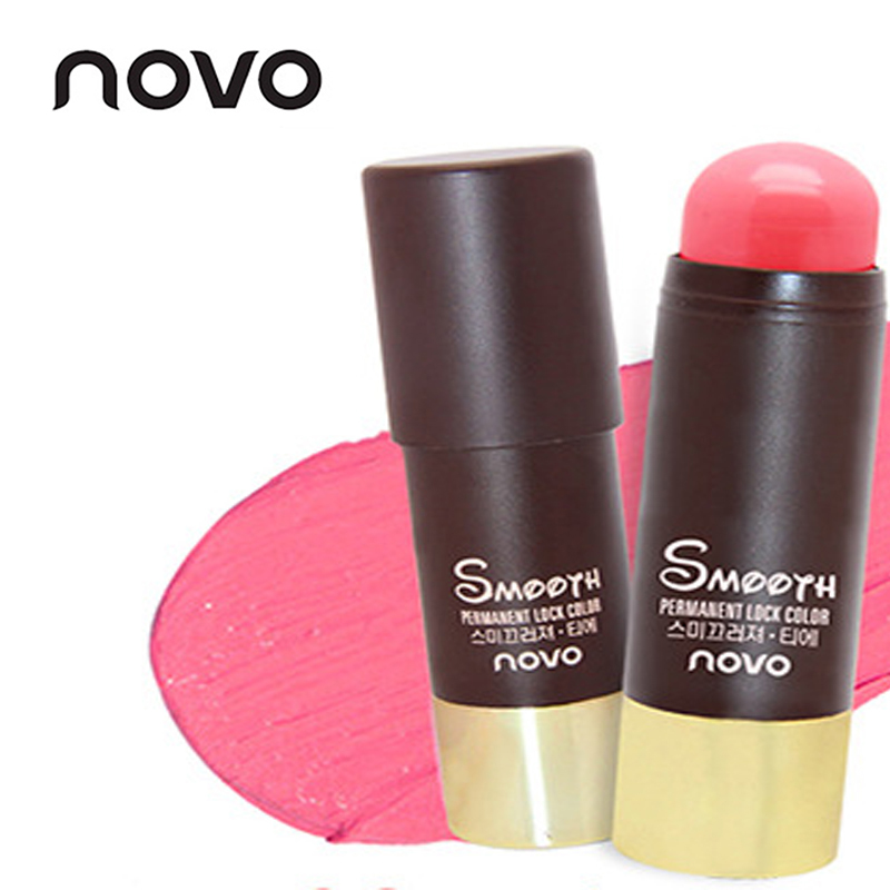 NOVO Brand Face Matte Blush Cream Stick Make Up Bronzer ...