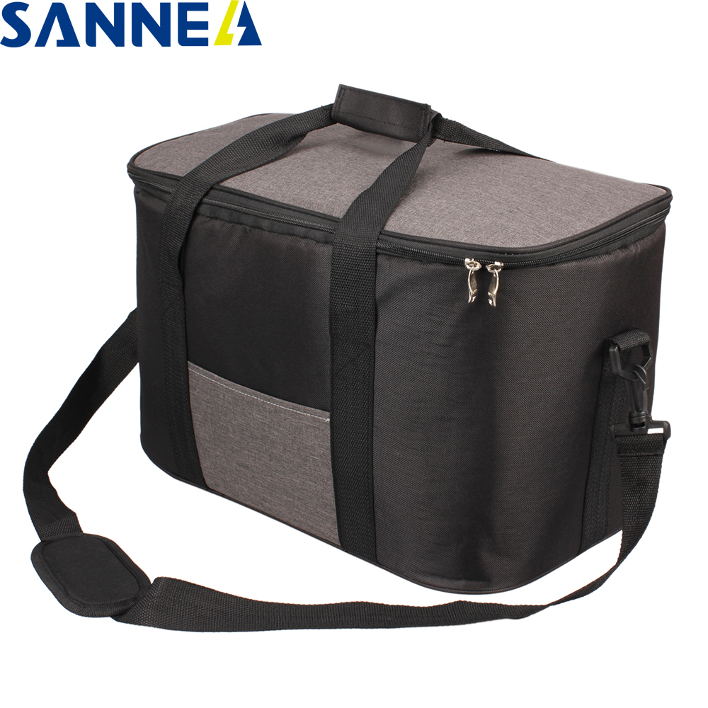 SANNE 34L Large Capacity Waterproof  Lunch Bag For Food Famous Brand Thermal Cooler Insulated Portable Tote Picnic Lunch Hot Bag
