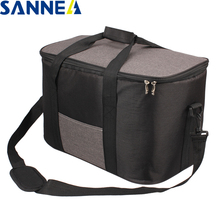 SANNE 34L Large capacity Waterproof  Lunch Bag for Food Famous Brand Thermal Cooler Insulated Portable Tote Picnic Hot