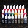23 Pcs Maquiagem Permanente Pigmento de Tinta 15 ml Cosméticos 23 Cores de tinta de Tatuagem conjunto de tinta para sobrancelha delineador lip corpo maquiagem