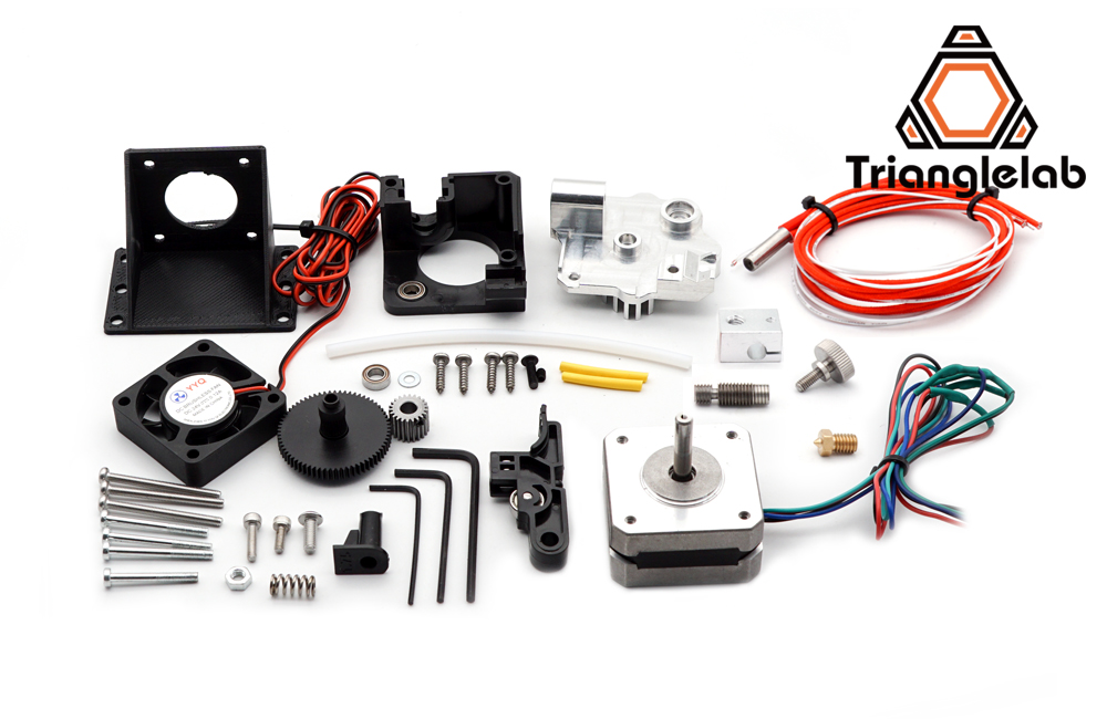 Trianglelab 3d printer Titan Aero V6 hotend extruder full kit free shipping reprap mk8 Prusa i3