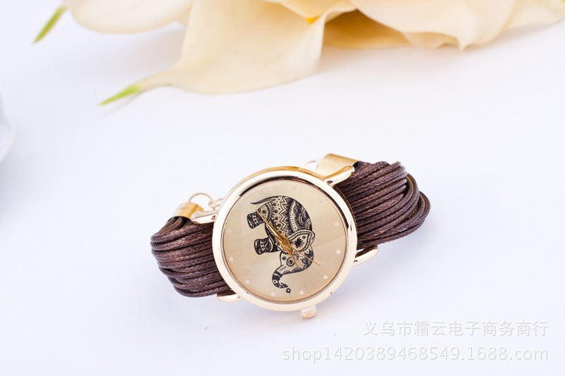 a1bb6ac6ceb92 Latest Design Top Quality Multilayer Leather Weave Watches Women Fashion 5  Color Quartz Dress Watch Female Girl Relogio Feminino-in Women s Watches  from ...