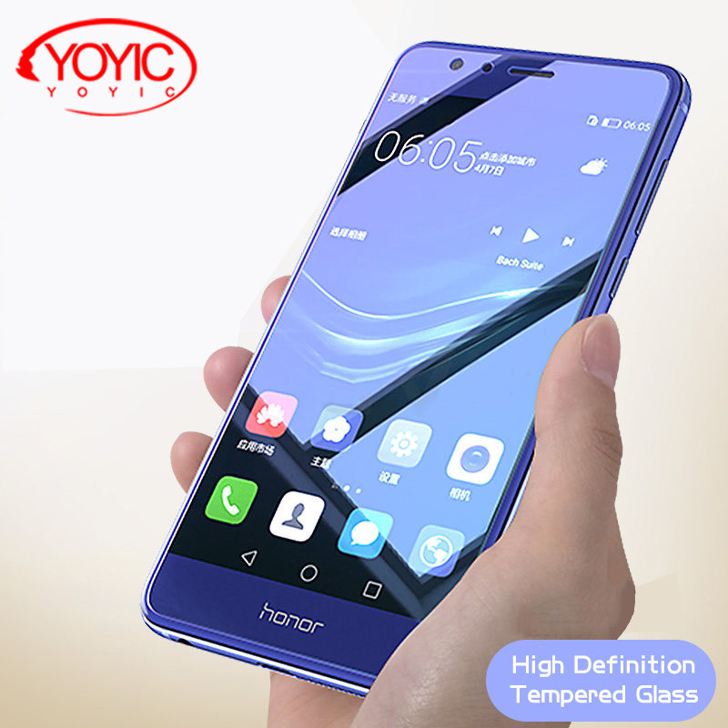 EU Version Zhouzl Mobile Phone Tempered Glass Film 50 PCS 0.26mm 9H Surface Hardness 2.5D Explosion-Proof Non-Full Screen Tempered Glass Screen Film for Galaxy J7 2017 Tempered Glass Film