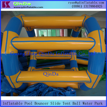 Funny Inflatable Water Wheel Used In Swimming Pool Floating Walking Roller For Sale