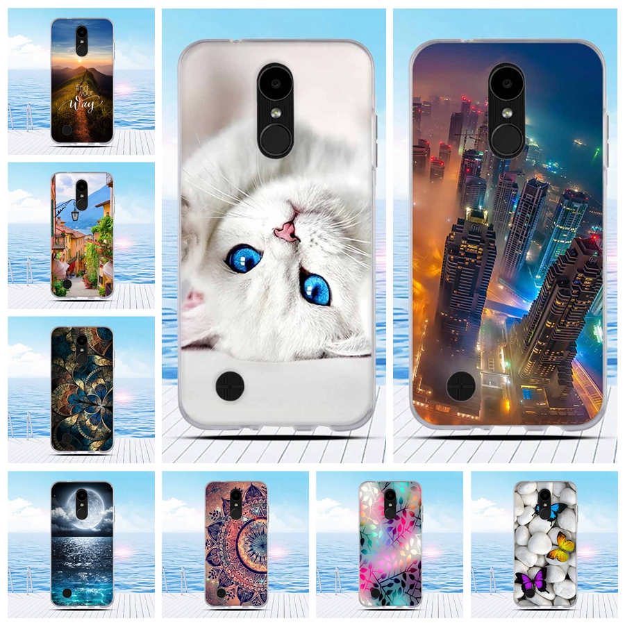 Cover For LG K4 2017 Mobile Case for LG K8 2017 Silicon
